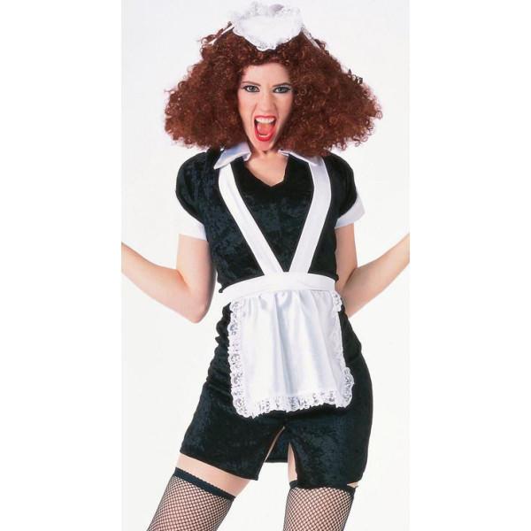 Rocky Horror Magenta Dress and Hat womens halloween costume (No Wig)