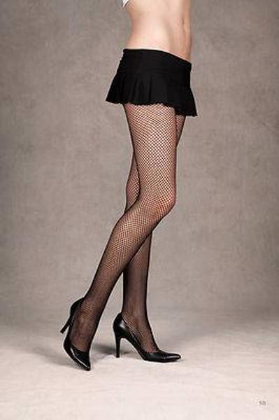 Black Fishnet Stockings Tights Pantyhose Womens - 4 Pairs