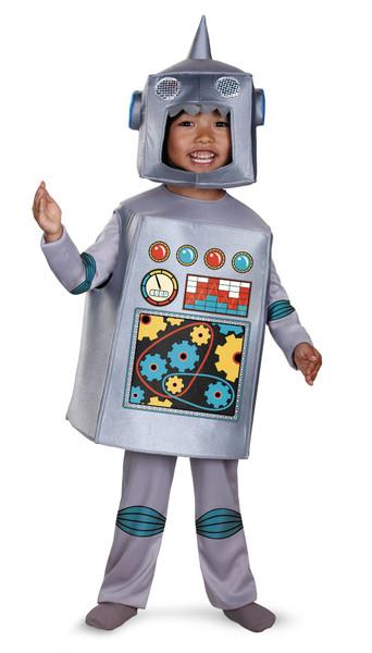 Disguise Artsy Heartsy Retro Robot Costume
