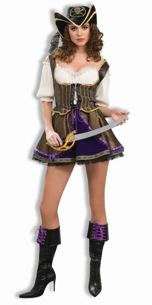 Designer Collection Pirate Wench adult womens Halloween costume
