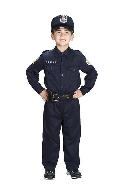 JR. POLICE OFFICER cop uniform suit halloween costume