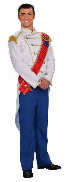 PRINCE CHARMING suit royal king cinderella mens adult halloween costume 42