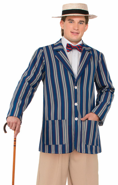 Roaring 20s Boater Jacket adult mens Halloween costume
