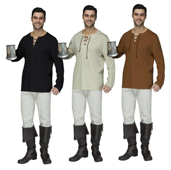 Mens Peasant Shirt Adult