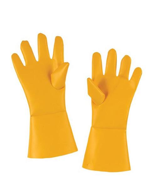 Breaking Bad Gloves Yellow Hazmat Adult Halloween Costume