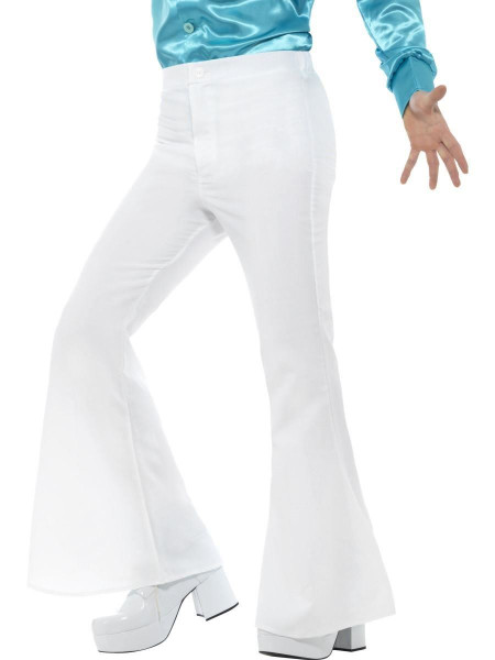 Bell Bottom Disco Pants Flared Trousers Mens Halloween Costume Medium
