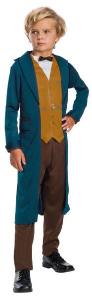 Newt Scamander Fantastic Beasts Harry Potter kids boys Halloween costume