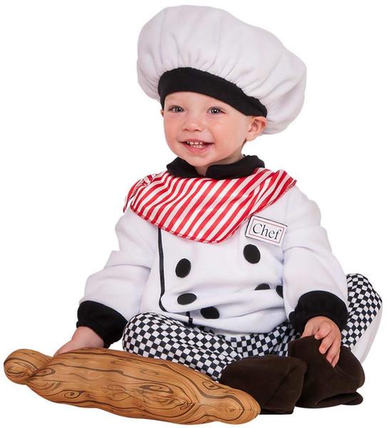 Little Chef Cook Baker kids Halloween career costume