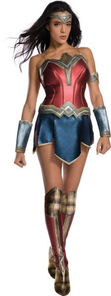 Wonder Woman movie adult womens Halloween costume set