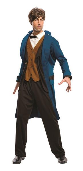 Deluxe Newt Scamander adult mens Fantastic Beasts Halloween costume Harry Potter