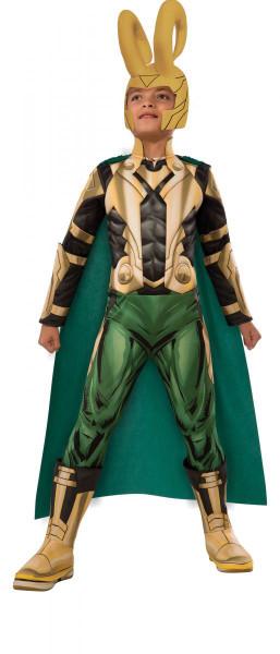 kids Loki Deluxe Muscle Chest Avengers Assemble boys Halloween costume