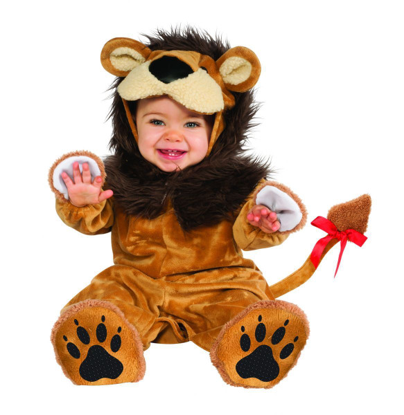 Lil Lion infant animal kids boys Halloween costume