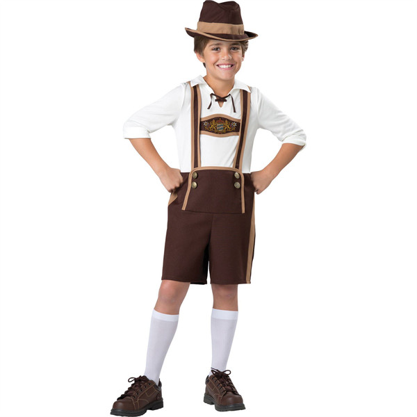 Bavarian guy child halloween costume