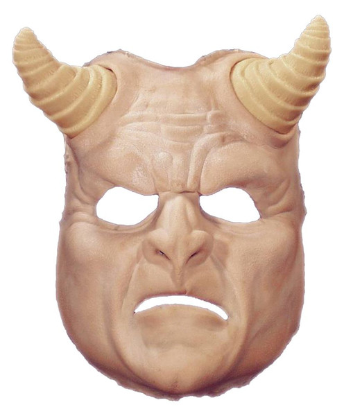Demon Mask Foam Latex Prosthetic
