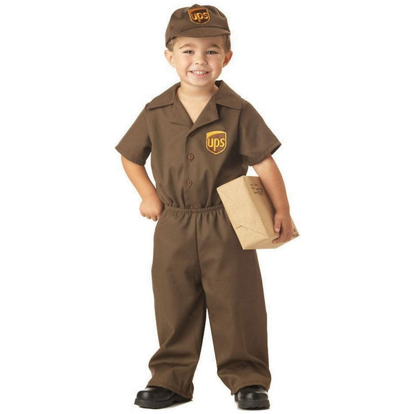 The UPS Guy Toddler Costume