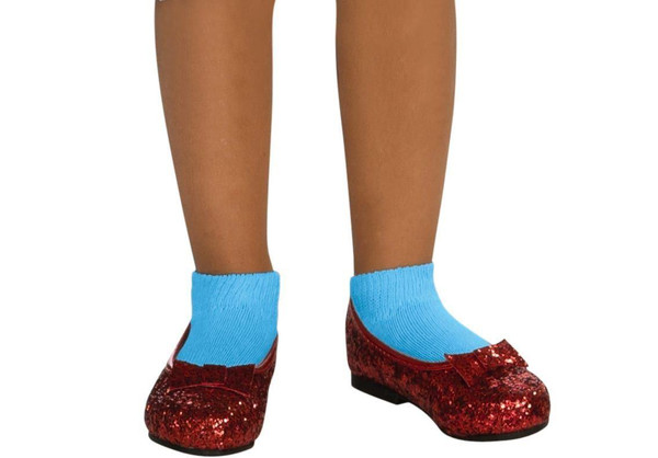 Dorothy Deluxe Ruby Red Costume Child Shoes