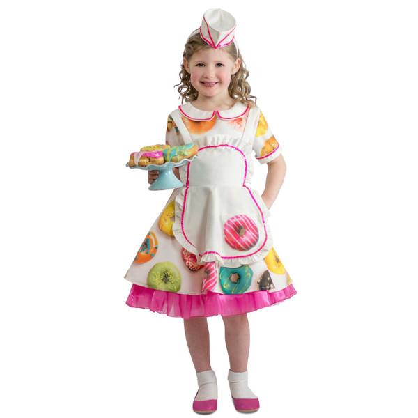 Donut Waitress Child Costume