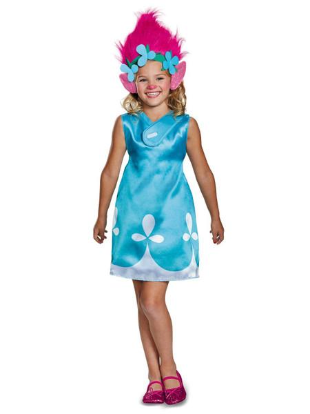 Trolls Movie Classic Poppy Girls Costume - Disguise 97333
