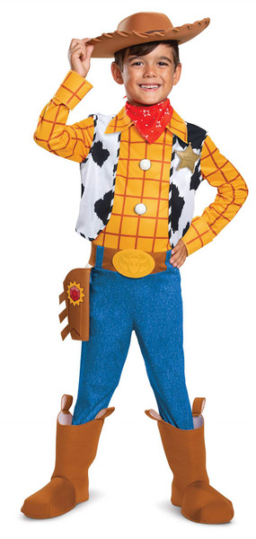 Woody Deluxe Toy Story 4 Child Costume - Disguise 23641