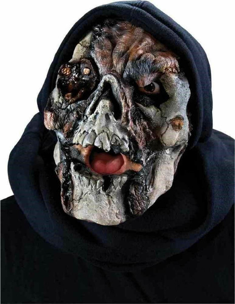 Latex Prosthetic Face Mask Zombie Ghost Skull Pirate Reel F/x Jolly Roger