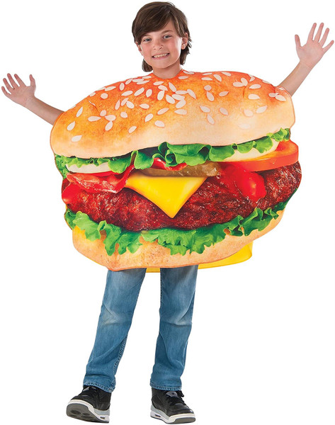 Photo Real Children's Cheeseburger Costume for Kids