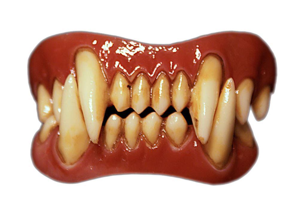 Evil Clown Pennywise Werewolf Grell Hyde Raptor Orc Minion Gaul FX Fangs Teeth