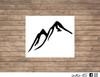mountain decal