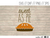 sweet as pie digital art
