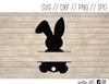 easter bunny digital art
