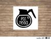 pot head decal