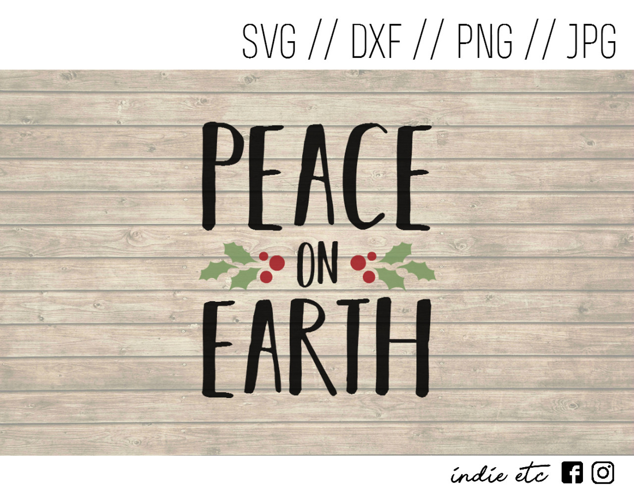 11+ Peace On Earth / Svg Png Dxf SVG