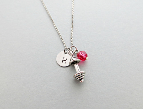 barbell charm