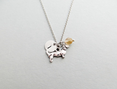 dachshund charm