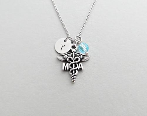 ma charm necklace