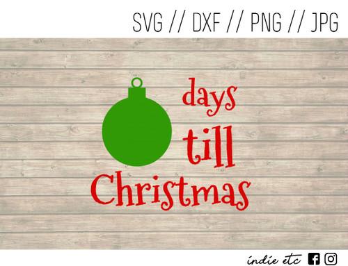 christmas countdown digital art