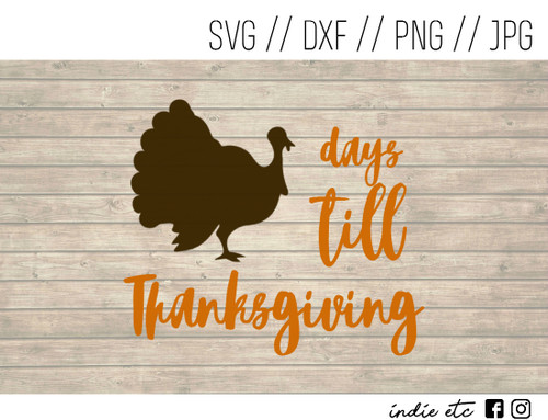 thanksgiving countdown digital art