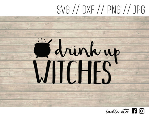 drink up witches digital art
