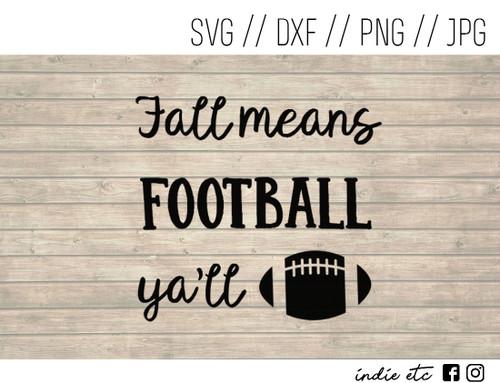 fall football digital art
