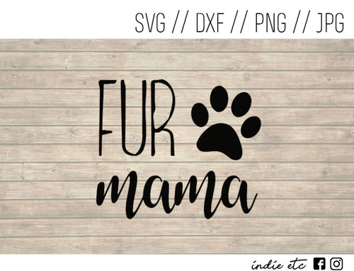 fur mama digital art