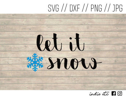 let it snow digital art