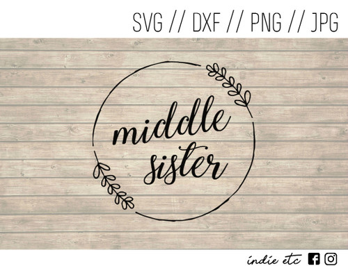 middle sister digital art