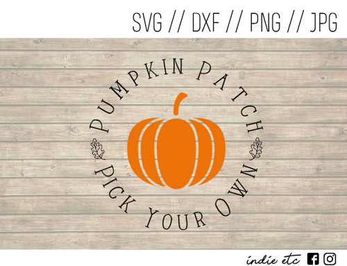 pumpkin patch digital art