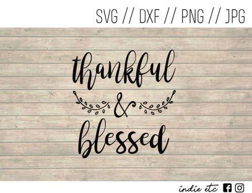 thankful blessed digital art