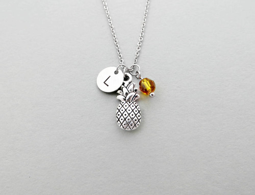 pineapple initial charm