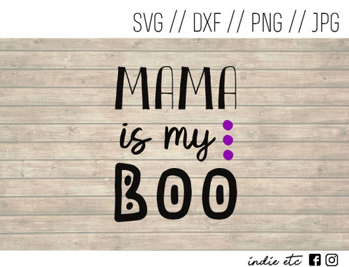 mama is my boo digital art