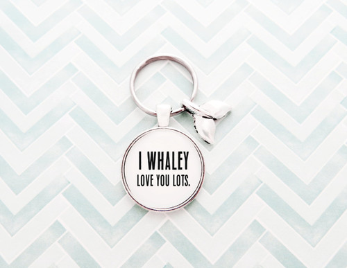 whaley love you lots keychain