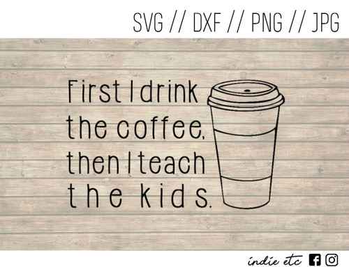drink the coffee digital art