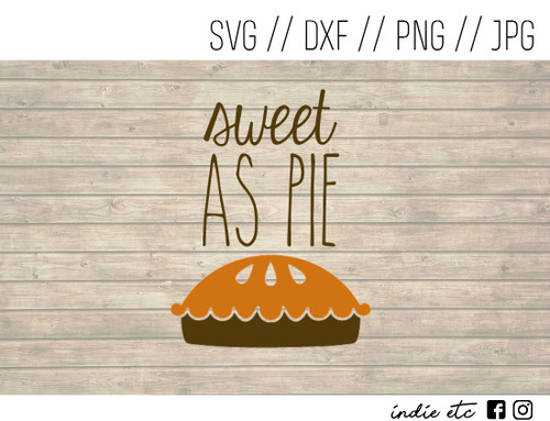 sweet as pie digital art