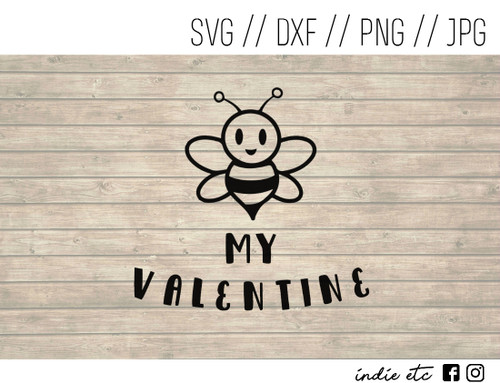 bee my valentine digital art