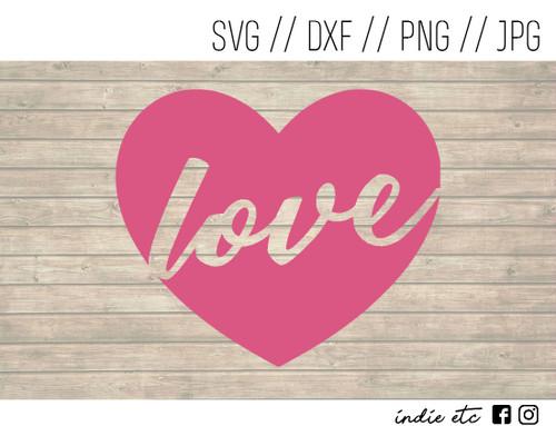 love heart digital art
